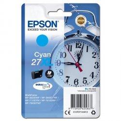 Epson oryginalny ink C13T27124012, 27XL, cyan, 10,4ml, Epson WF-3620, 3640, 7110, 7610, 7620