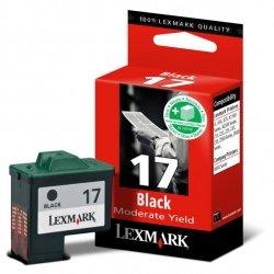 Lexmark oryginalny ink 10NX217E, #17+, black, 235s, Lexmark Z13, Z23, Z33, Z25, Z35