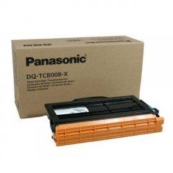 Panasonic oryginalny toner DQ-TCB008X, black, 8000s, Panasonic Fax DP-MB300