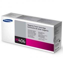 Samsung oryginalny toner CLT-M406S, magenta, 1000s, Samsung CLP-360, 365, CLX-3300, 3305