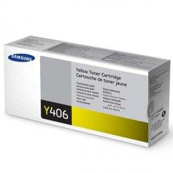 Samsung oryginalny toner CLT-Y406S, yellow, 1000s, Samsung CLP-360, 365, CLX-3300, 3305