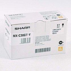 Sharp oryginalny toner MX-C30GTY, yellow, 6000s, Sharp MX-C250FE/C300WE