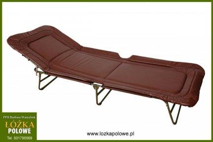 Łóżko-łóżka składane z materacem  super mocne typ szpitalny wytrzymałość 150kg materac tkanina  skóropodobna zmywalna