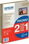 Papier Epson Premium Glossy Photo Paper 2 w cenie 1 A4; 255 g; 2x15 kartek S042169
