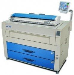 Cyfrowa kopiarka wielkoformatowa KIP 7600C skaner kolor (2 rolki)