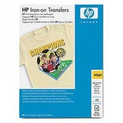 Papier HP Iron-On T-Shirt Transfers,A4,12szt-specjalny papier do wprasowania własnych wydruków na materiały bawełniane C6050A