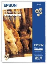 Papier Epson Matte Paper Heavyweight, matowy A4, 167g, 50ark. S041256
