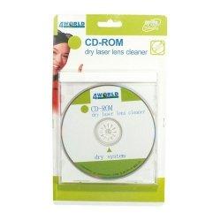 4world Płyta czyszcząca napęd CD-ROM/DVD-ROM z płynem