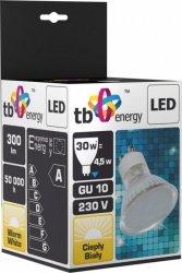TB Energy Żarowka LED GU 10 230V 4,5W Biały Ciepły