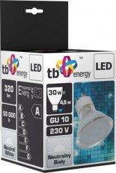 TB Energy Żarowka LED GU 10 230V 4,5W Biały Neutralny
