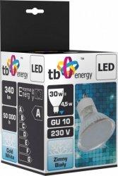 TB Energy Żarówka LED GU 10 230V 4,5W Biały Zimny