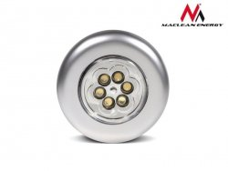 Maclean Lampa samoprzylepna MCE27 6xLED