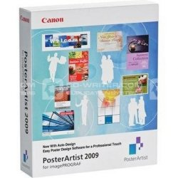 Oprogramowanie Canon Poster Artist 2009