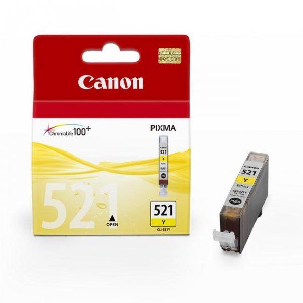 Tusz Canon CLI-521Y Yellow 9ml