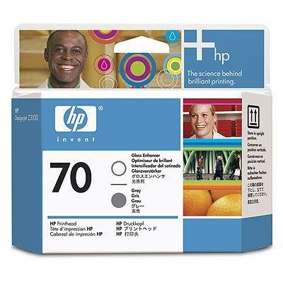 Głowica (Printhead) HP 70 Gloss Enhancer and grey do Z3100/Z3200 C9410A