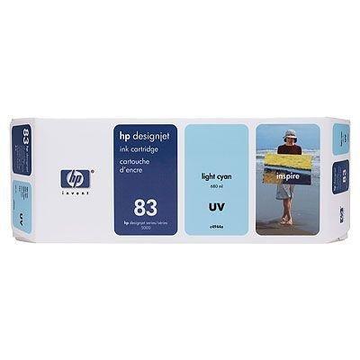 Tusz (Ink) HP 83 light cyan (680ml) system UV do DnJ 5000/5000ps/5500/5500ps C4944A