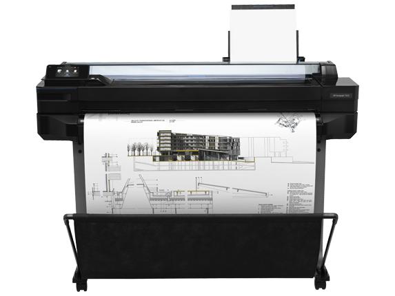 Ploter HP DesignJet T520 36'' (914 mm) CQ893A Z PODSTAWĄ