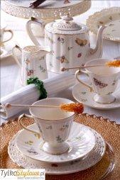 Villa Italia Leda - Serwis do herbaty dla 6 osób (22 elementy) ORYGINALNY