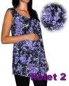 Wiskozowa tunika ciążowa mod 04  8261