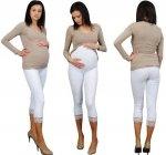 Legginsy ciążowe z koronką 2092 2108