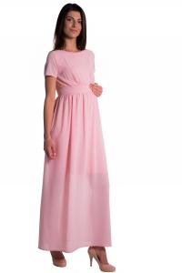 Sukienka ciążowa szyfonowa 3860