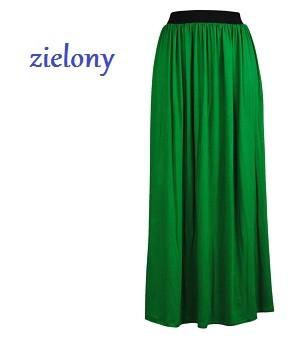Długa, maxi spódnica z wiskozy 0395