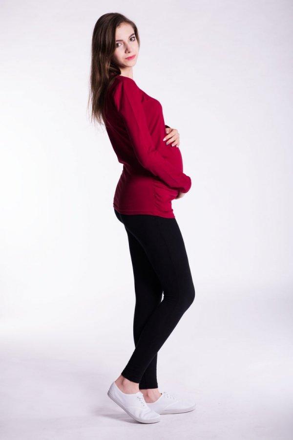 Bluzka ciążowa Classic Długi rękaw 8100