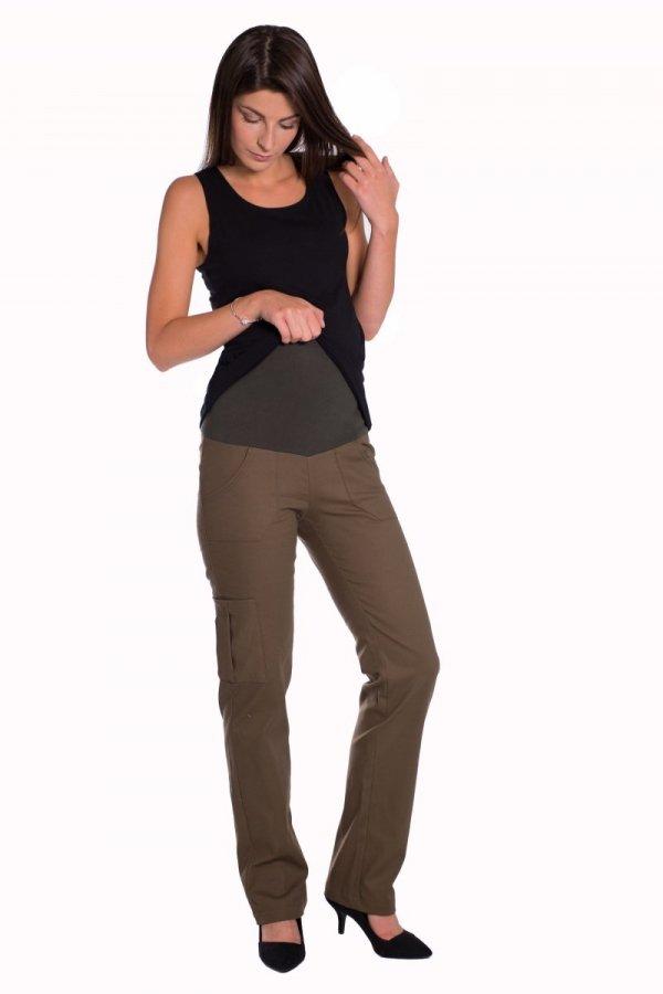 Spodnie ciążowe bojówki 1125