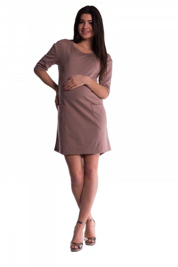 Sukienka ciążowa i do karmienia 3594