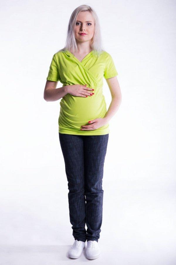 Bluzka ciążowa i do karmienia krótki r. 2474