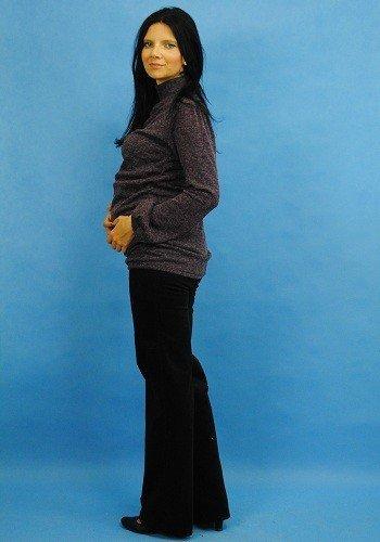 Modny sweterek z angory, jesienna tunika 8087