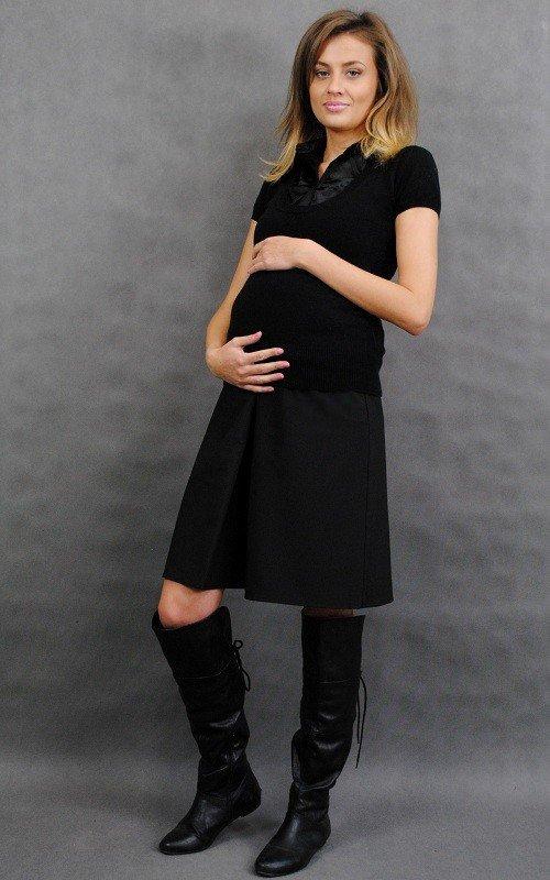 Spódnica ciążowa z kontrafałdą 8186