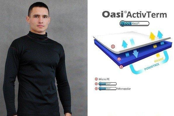 Bielizna OasiActivTerm termoaktywna bluza męska 9213