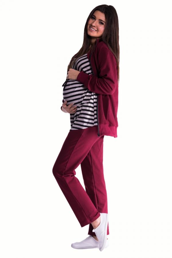 Dres ciążowy 3 częściowy z tuniką 3563