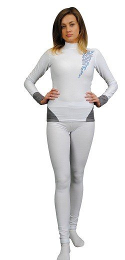 SILVERPLUS Bielizna termoaktywna antybakteryjna, komplet damski 9237
