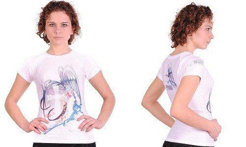 Termoaktywna koszulka damska antybakteryjna