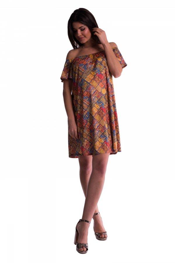 Sukienka ciążowa bez rękawów 3532