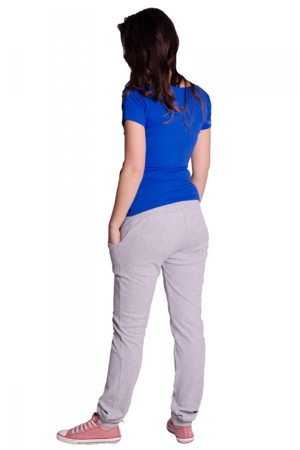 Spodnie ciążowe rurki dresowe 1491