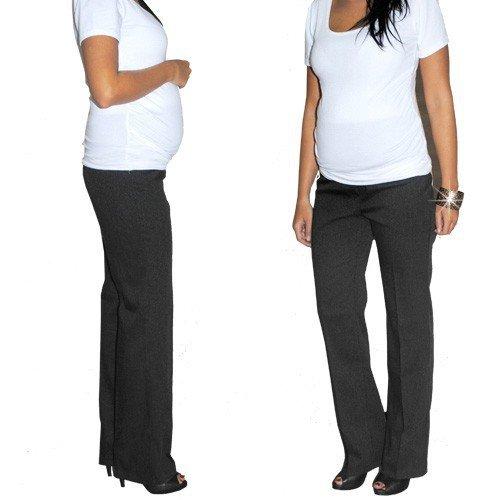 Letnie wizytowe spodnie ciążowe 8131