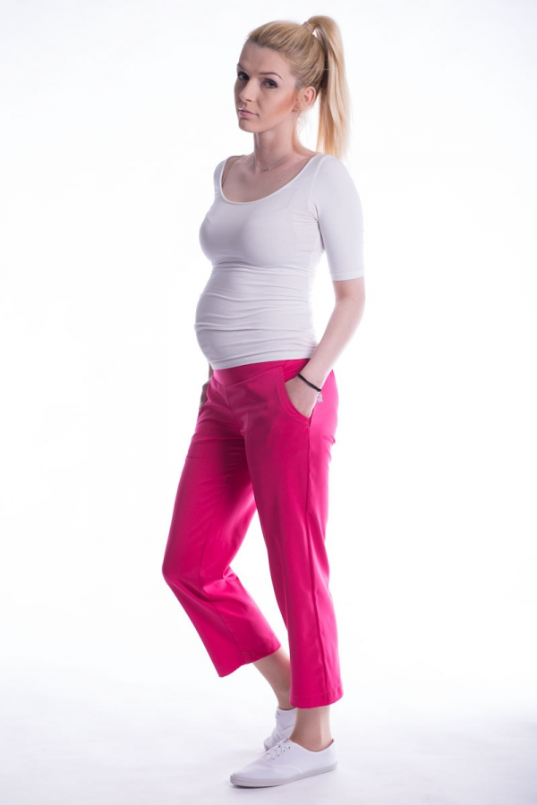 Spodnie ciążowe 7/8 biodrówki 2481