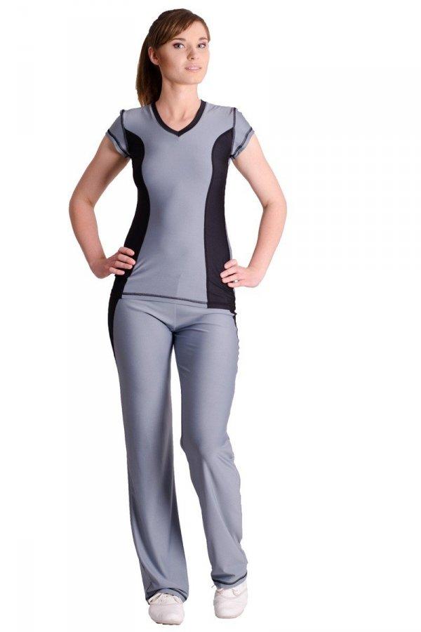 Antybakteryjny komplet fitness - T-shirt