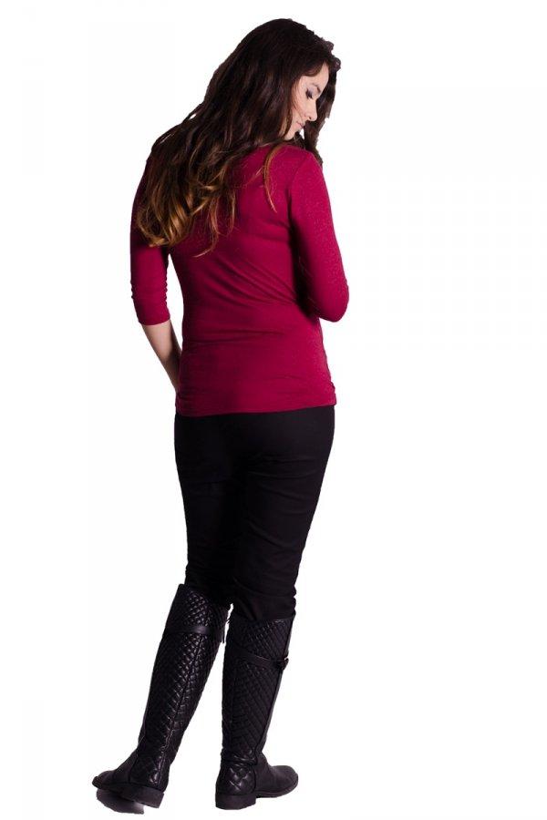 Kopertowa bluzka ciążowa 1507