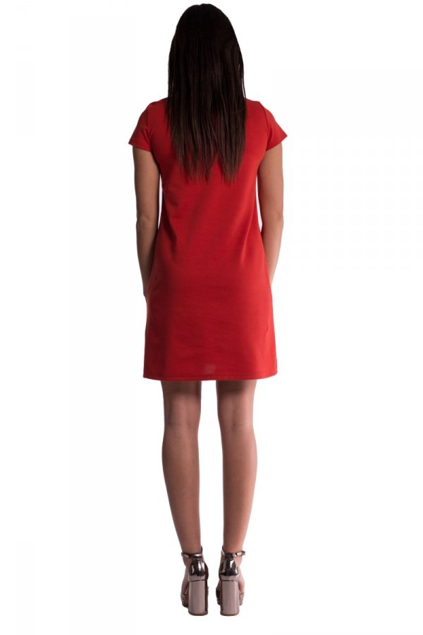 Sukienka ciążowa z zaszewkami 3587