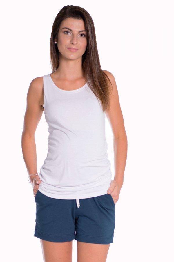 Szorty ciążowe dresowe 3808
