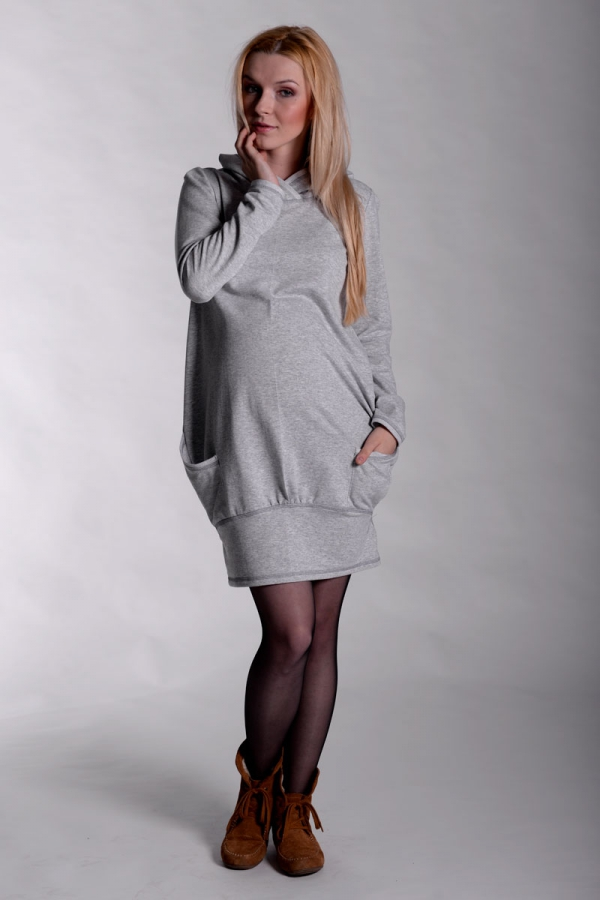 Sukienka ciążowa dresowa 2306