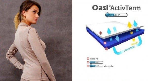 Bielizna OasiActivTerm termoaktywna bluza damska 9114