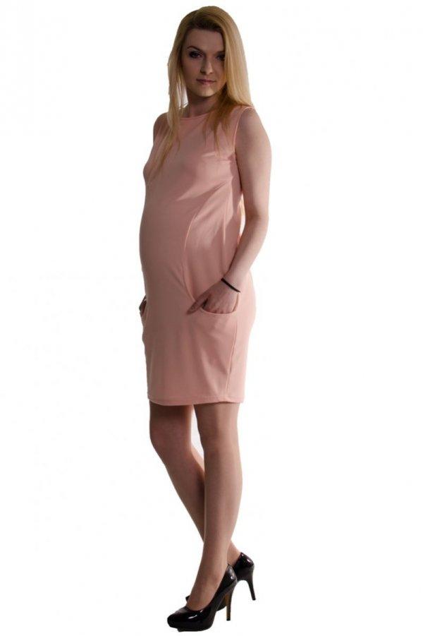 Letnia sukienka ciążowa z kieszeniami 1866