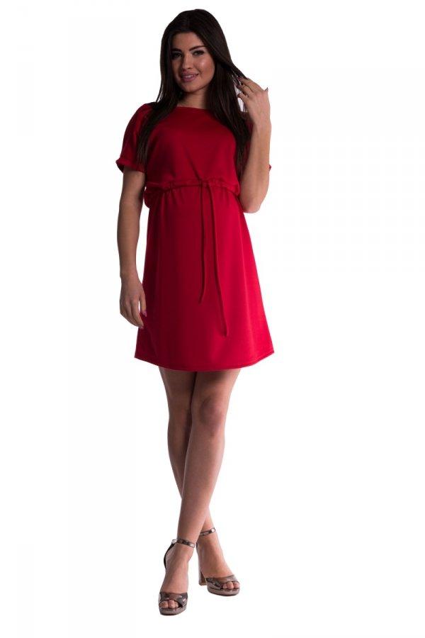 Sukienka ciążowa wiązana 3570