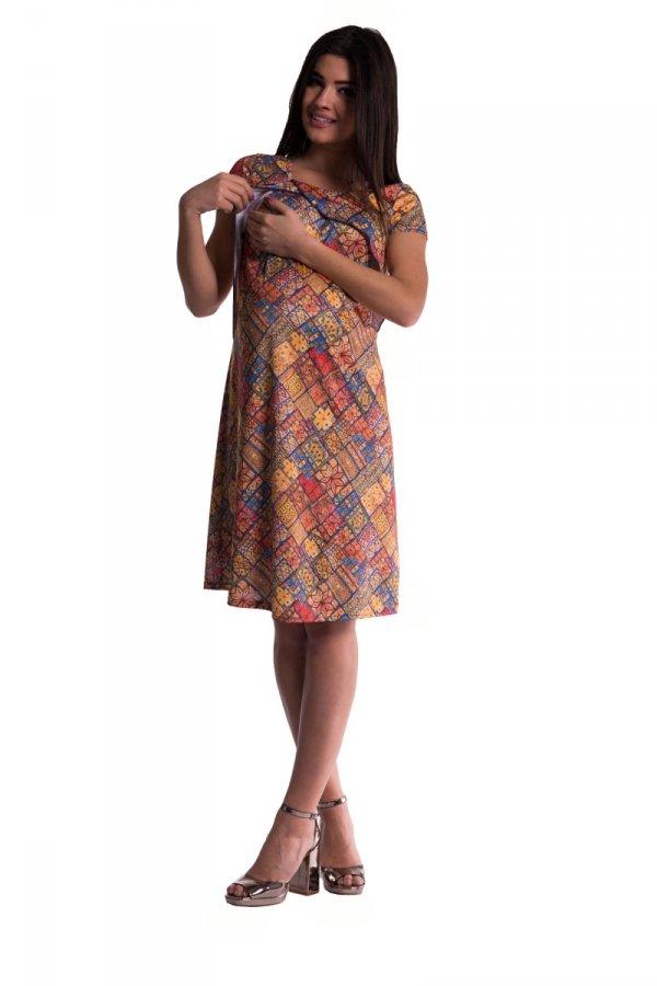 Sukienka ciążowa i do karmienia 3488