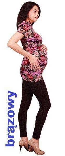 Długie bawełniane legginsy ciążowe 2016 i 2023